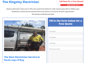 kingsley-electrician